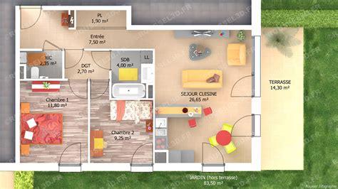 home staging chambre infographie 3d pour les constructeurs de maisons