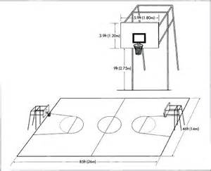 Basketball Court Drawing And Label At Paintingvalley Com