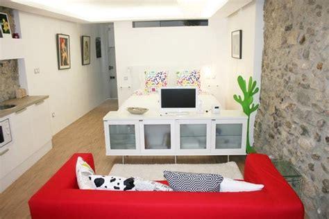 estrade cuisine small 30 m2 studio apartment design in