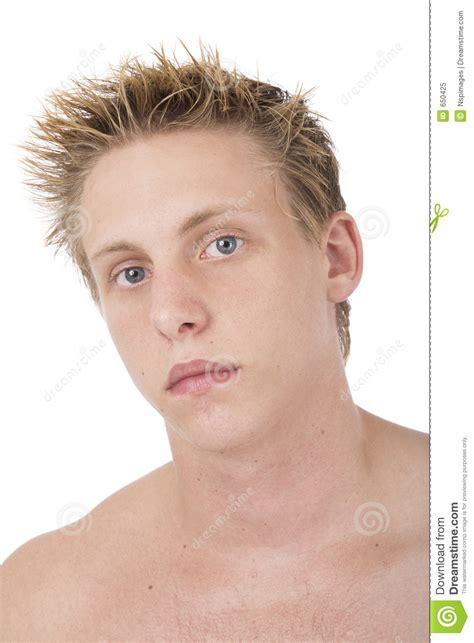 caucasian male portrait  royalty  stock photo image