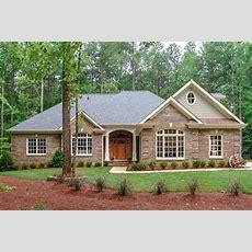 Classic Brick Ranch Home Plan  2067ga  Architectural