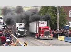 Amazing Semi Trucks Drag Racing YouTube