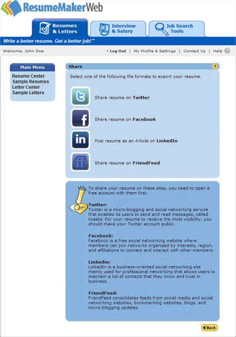 Social Networking Experience Resume by Find On Social Media Networks Resumemaker