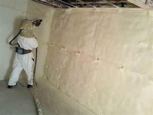 Isolation Mur Intérieur Polyuréthane : mousse polyur thane projet e l 39 isolation optimale isoprom ~ Melissatoandfro.com Idées de Décoration