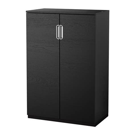 bureau galant ikea galant armoire avec portes brun noir ikea