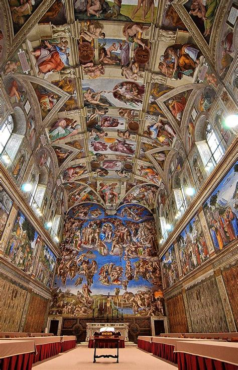 Painted The Ceiling Of The Sistine Chapel In Rome by Loyalty Binds Me The Sistine Chapel Ceiling