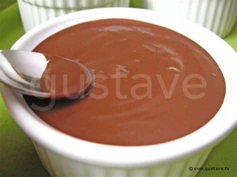 cr 232 me au chocolat la recette gustave