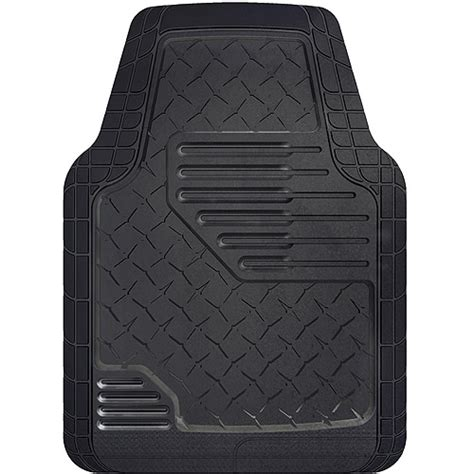 floor mats walmart kraco rubber truck floor mats 2pk walmart com