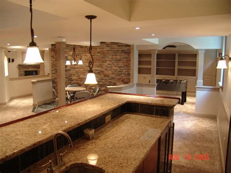 basement remodel  west chester pa traditional