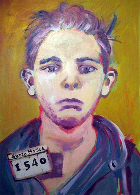 mary gibney mugshot paintings