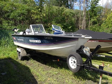Starcraft Boats Ontario by Starcraft Sfm 180 1989 Used Boat For Sale In Ottawa