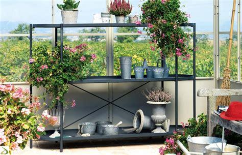 scaffale da esterno scaffale in ferro porta fiori etagere arredo design