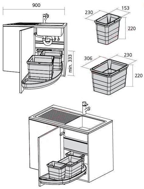 Afmeting Keukenlade by Keuken Accessoire Vuilbakken Verlichting Buitenrooster