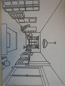 Dessiner Une Piece En Perspective. Fabulous Dessin Chambre En ...