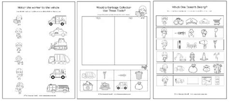 community helpers theme pack for pre k k the measured 486 | worksheets image 2 590x263