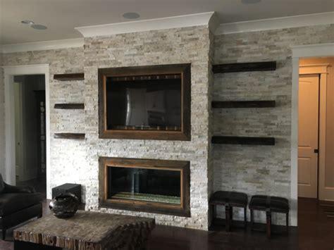 custom davinci single sided linear   fireplace place