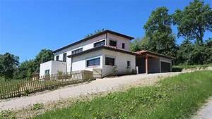 plan de maison individuelle sur terrain en pente maison With plan maison terrain pente