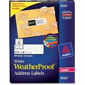 labels label makers address shipping labels avery With avery weatherproof labels staples