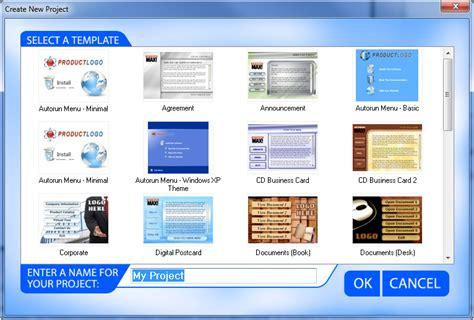 Autoplay Menu Builder Templates Autorun Cd Dvd Menu Creator Autorun Max 2 Indigo