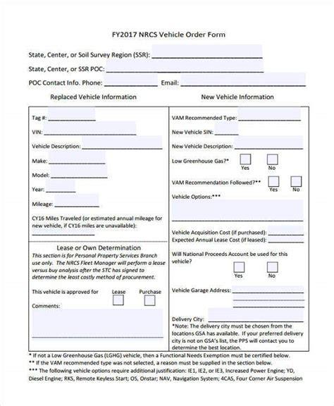 order forms    premium templates