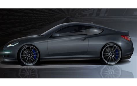 Who Makes Hyundai by 2011 Sema Hyundai Genesis Hurricane Makes 450 Hp But Not