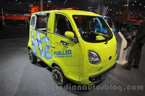 Is This Tata The Smallest Roadworthy Hydrogen Fuel-cell