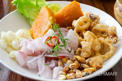 peruvian cuisine best peruvian food in lima peru kimchimari