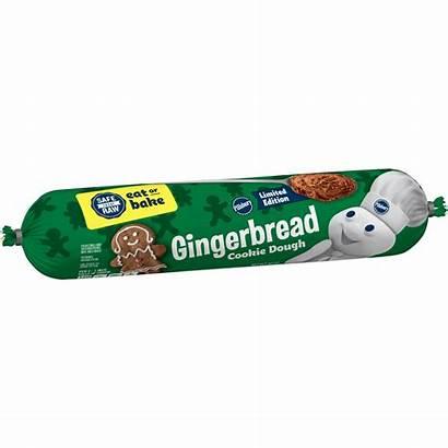 Dough Cookie Gingerbread Pillsbury Walmart Cookies Dairy