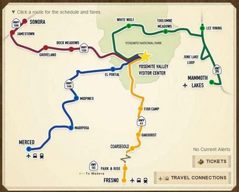 Finally Public Bus System From Fresno Yosemite