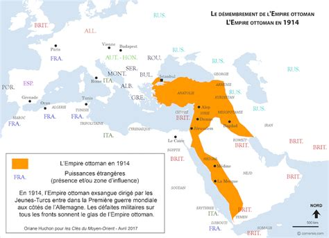 Carte De L Empire Ottoman En 1914 by Cartographie De L Expansion Et Du D 233 Membrement De L Empire