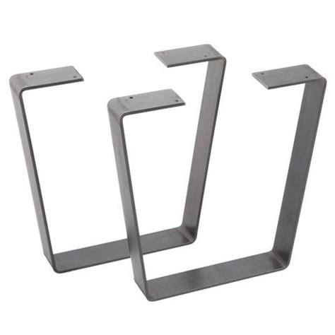 kitchen table bases metal flat bar metal table legs table legs diy