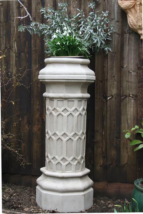 limestone chimney pot planters