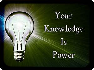 Knowledge | From the Desk of MarDrag  Knowledge