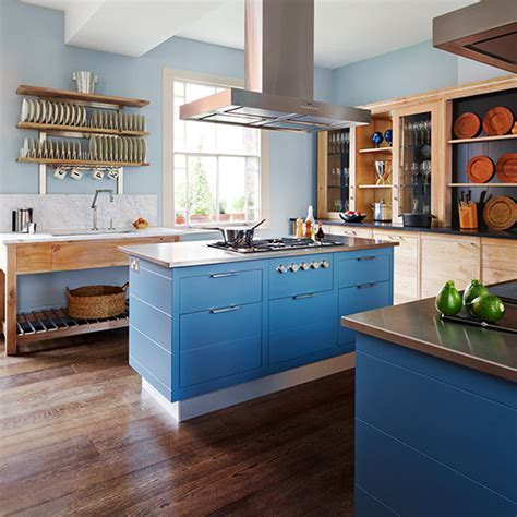 Kitchen trends   shades of blue   Ideal Home