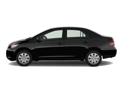 Image 2009 Toyota Yaris 4 Door Sedan Auto Natl Side