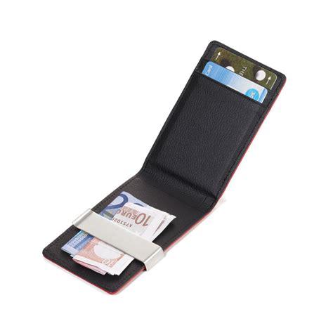 kreditkartenetui mit münzfach kreditkartenetui mit geldscheinklammer 15 85 sfr