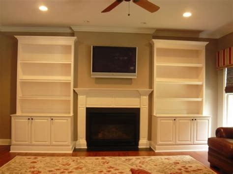 pictures painted kitchen cabinets crafted traditional painted fireplace built ins by 4221
