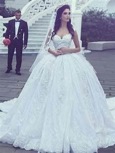 Robe Mariage Dentelle : robe de mari e princesse dentelle longue l gante robe ~ Mglfilm.com Idées de Décoration