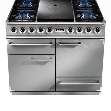 falcon range cooker falcon range cookers 1092 deluxe ct dual fuel range cooker fct1092dfss cm stainless steel with