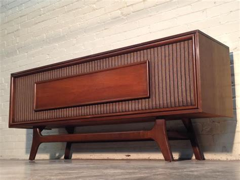 vintage tv stereo cabinet vintage mid century danish modern general electric stereo