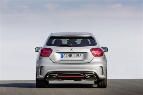 2016 Mercedes-benz A-class With Facelift Official Photos