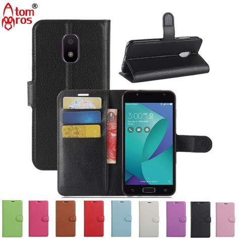 aliexpress buy luxury flip for asus zenfone v live v500kl cover wallet