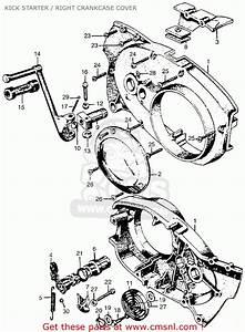 Honda Cl77 Scrambler 1965 Usa    305 Kick Starter    Right