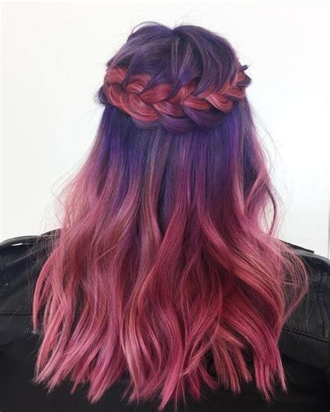 And Purple Hairstyles by 26 Purple Hair Color Ideas Trending In 2019