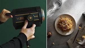 How I use CONTINUOUS LIGHT with Flash for Food Photography | Godox VL200 - YouTube