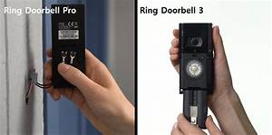 Ring Video Doorbell 3 Vs  Ring Pro