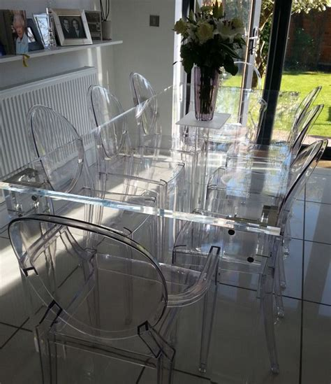 clear acrylic dining table 87 best images about clear see thru furniture on pinterest