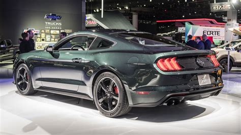 All-new 2019 Ford Mustang Bullitt Makes Its Global Debut