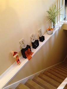 Fall Stair Ledge Decor Home Decor Pinterest Decor