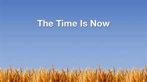 The Time Is Now  The Church In Wales